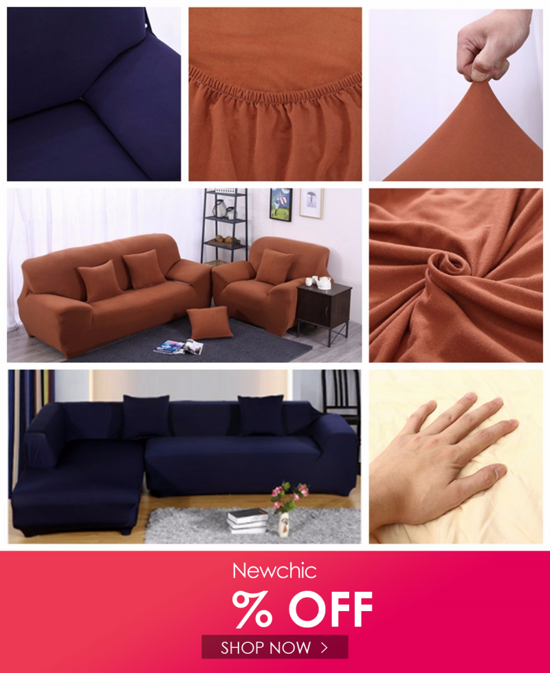 L Shape 3 Seat Stretch Elastic Fabric Sofa Cover Pet Dog Slipcovefurniture Protector In 2020 Fabric Sofa Cover Fabric Sofa Sofa Covers