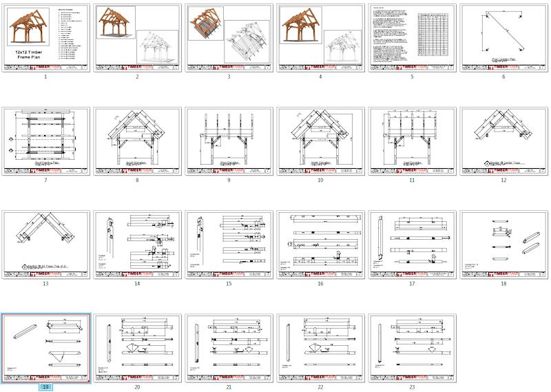 12x12 Timber Frame Plan   Pergolas, Hot tubs and Porch