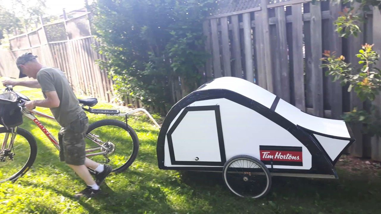 Bike camper trailer project finally finished con