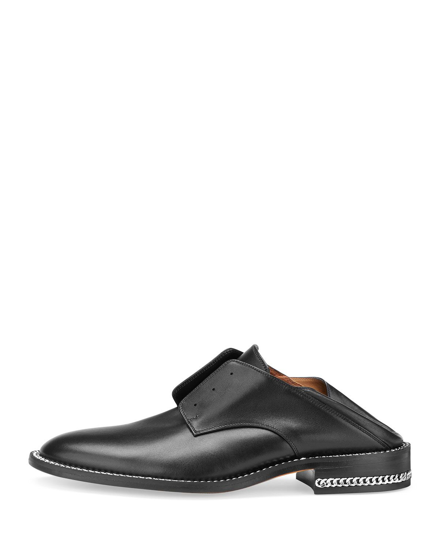 65236e5f6 Laceless Oxford Mule Slide Black | Products | Oxford shoes, Dress ...