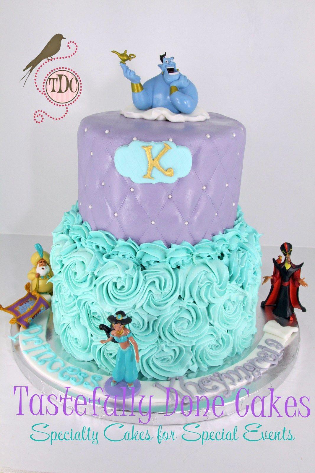 Pleasant 32 Amazing Photo Of Princess Jasmine Birthday Cake With Images Personalised Birthday Cards Petedlily Jamesorg