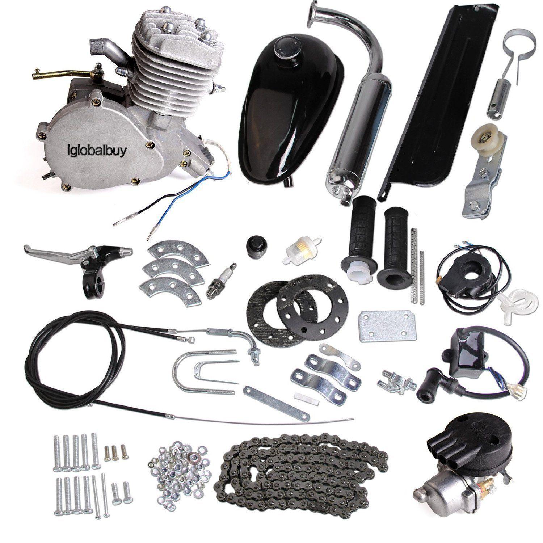 Amazon Com Iglobalbuy 80cc Petrol Gas Motor Bicycle Engine