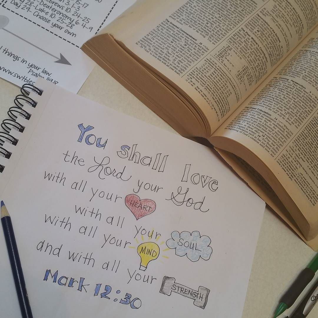 Great way to start the weekend! This will be my version of Bible Journaling until a Catholic bible journal is published. by jamies_essentials