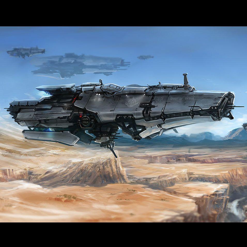 Fleet, Ridwan Chandra Choa on ArtStation at https://www.artstation.com/artwork/k2DlA