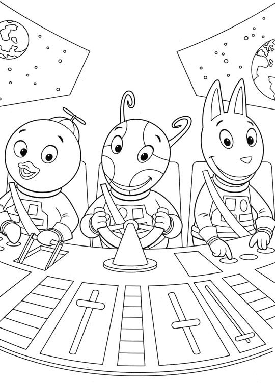 Backyardigans Pablo And Friends Coloring Pages | Kid\'s stuff ...