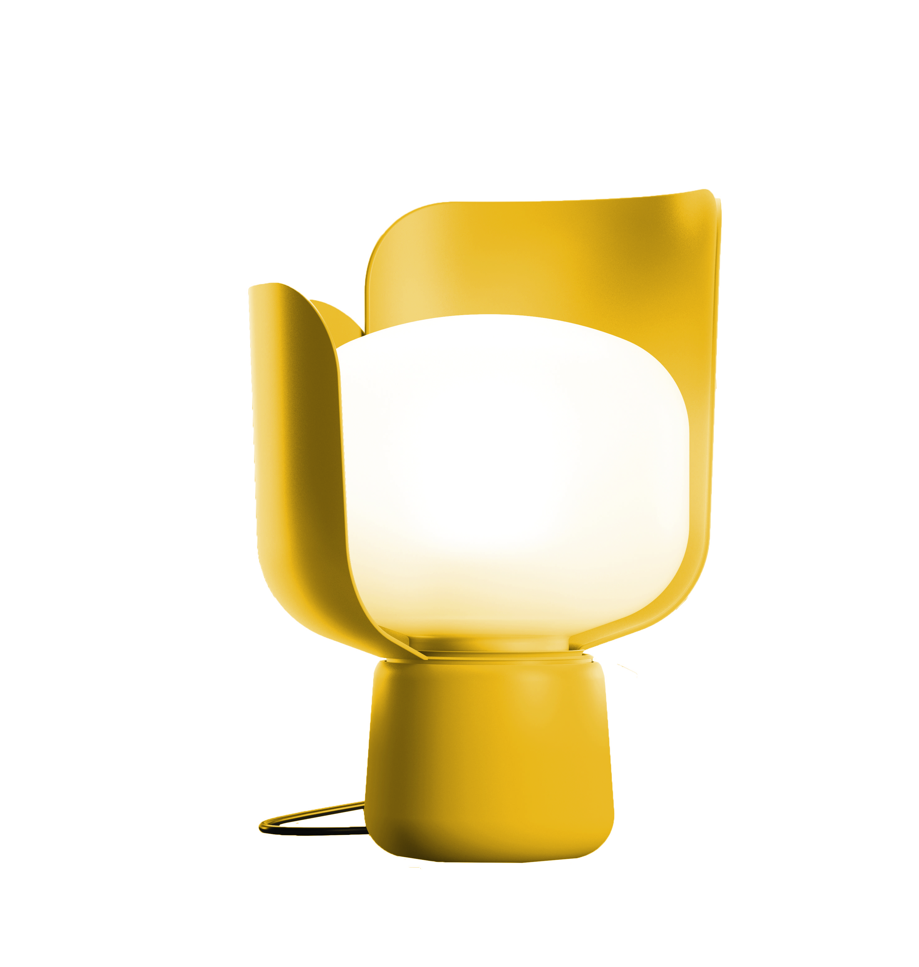 Blom By Andreas Engesvik Yellow Colour Friendly Compact Thanks To Its Petals Blom Answrs The Needs Of Home Dwe Candeeiros De Mesa Luminaria Lampadas Frias