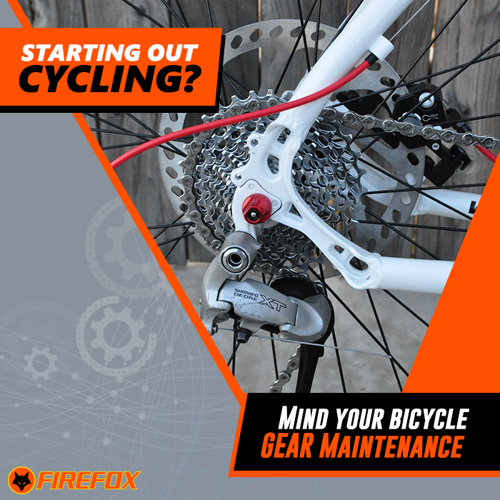 Firefoxtips Keep Your Bicycle Gears Lubricated And Clean Once