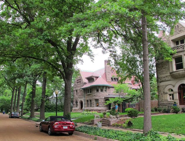 Portland Place St Louis Mo Residential Architecture Of