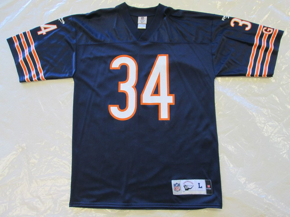 271083f2aa1 NFL- Chicago Bears Walter Payton No.34 VINTAGE COLLECTION By Reebok Men (L)  #Reebok #ChicagoBears