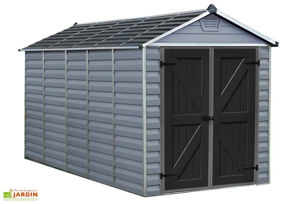 Abri De Jardin En Polycarbonate 4 X 2 M Skylight Deco Gris 6x12 Abri De Jardin Abri Deco Gris