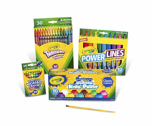 Crayola Marker Crayon and Paint School Pack $9.45 (Reg $31.49) - http://couponingforfreebies.com/crayola-marker-crayon-paint-school-pack-9-45-reg-31-49/
