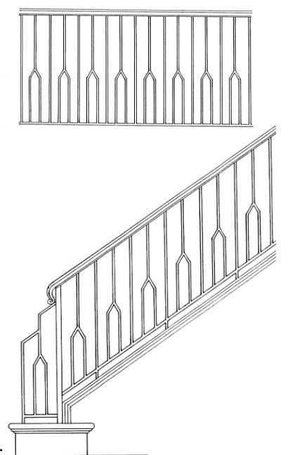 Stair railing designs isr clip art pinterest