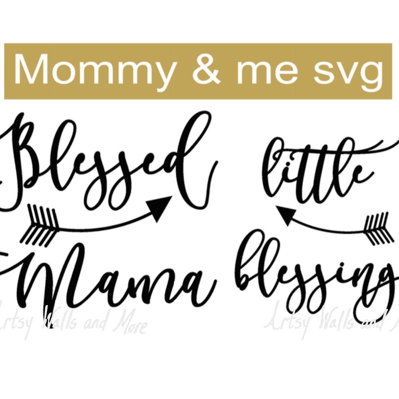 193ee14c Mommy and me svg Digital download cut file,