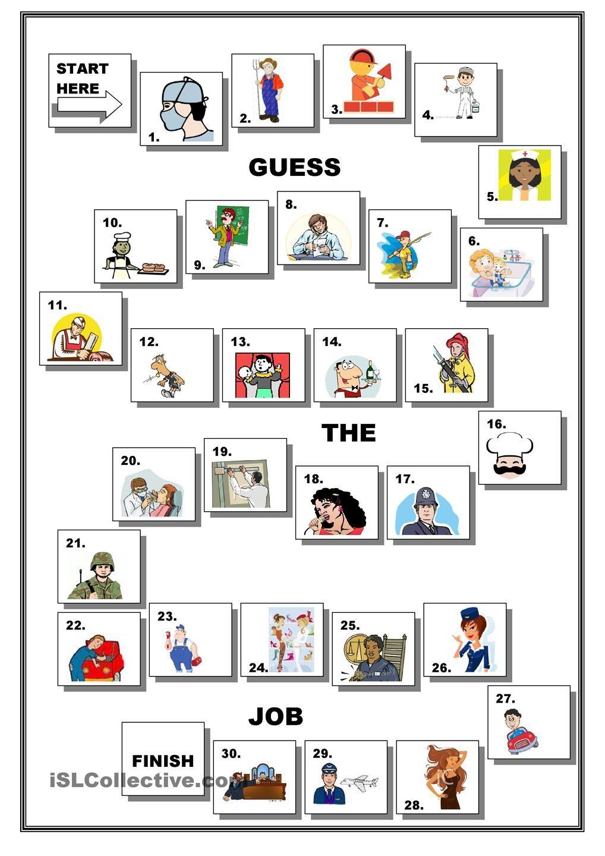 JOBS BOARDGAME Ingles