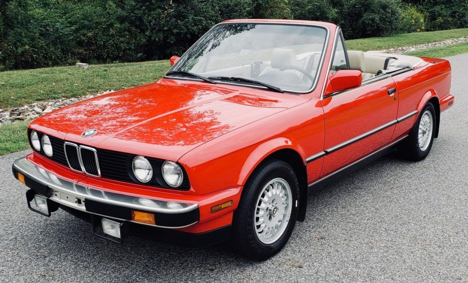No Reserve 30k Mile 1987 Bmw 325i Convertible Bmw Classic Cars Bmw E30 Cabrio Bmw Convertible