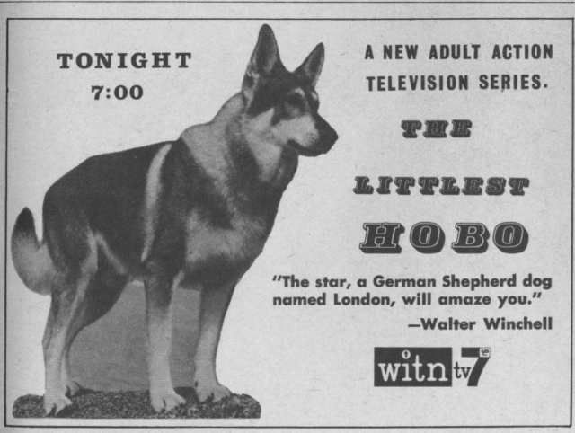 Ctva Canada The Littlest Hobo 1963 65 Original Series