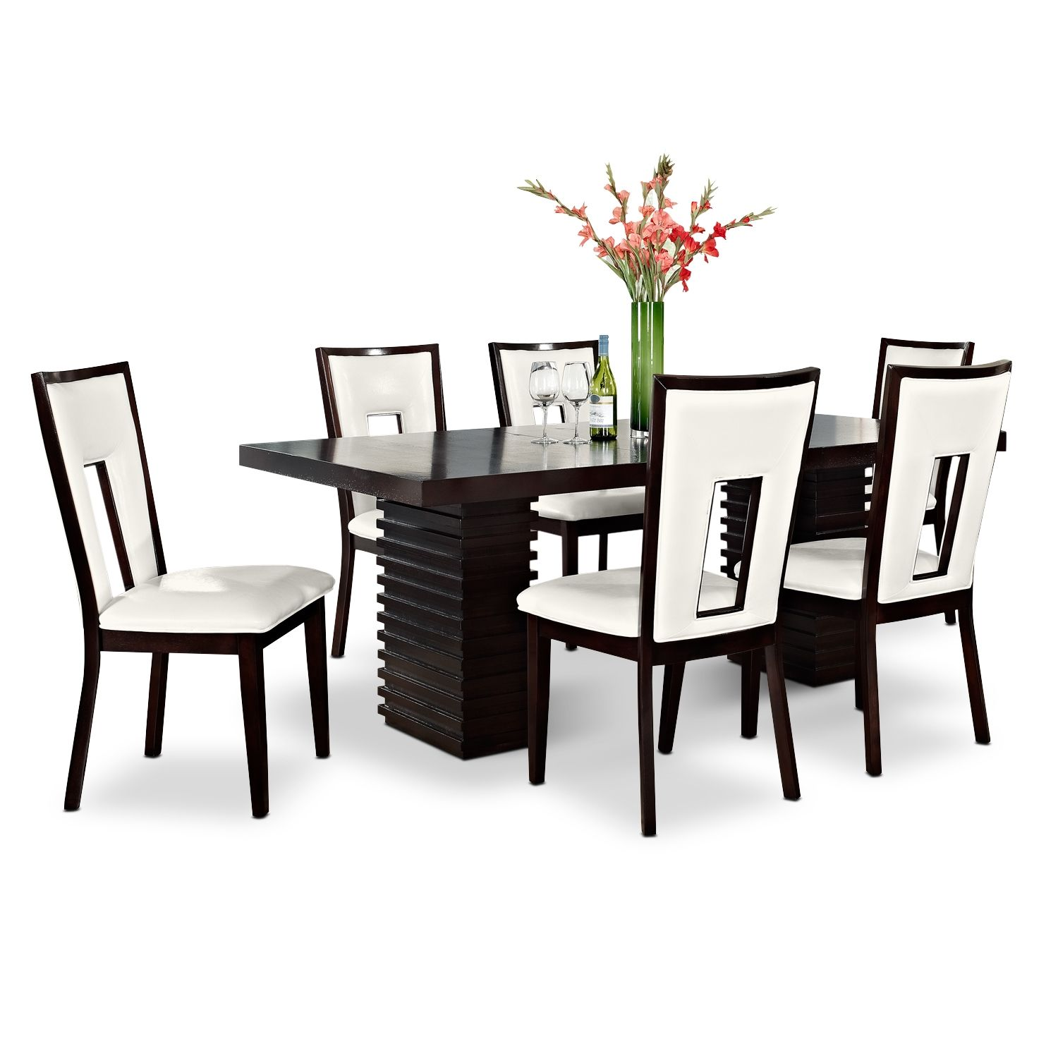 Paragon Madera II 7 Pc. Dining Room | American Signature Furniture