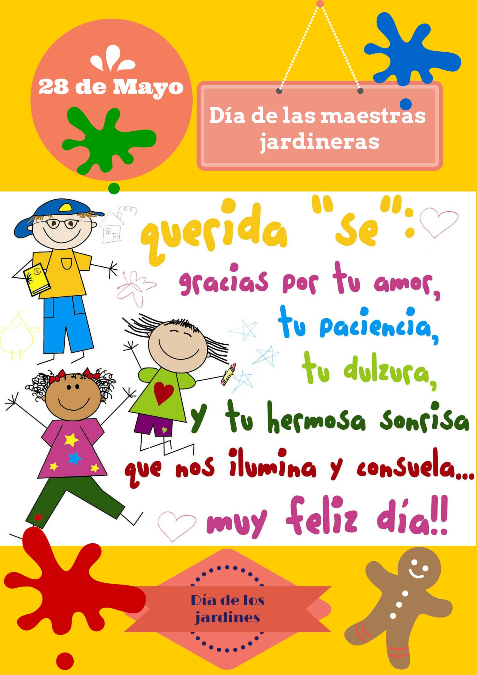 28 de Mayo Día de los jardines de Infantes | Efemérides | Pinterest ...