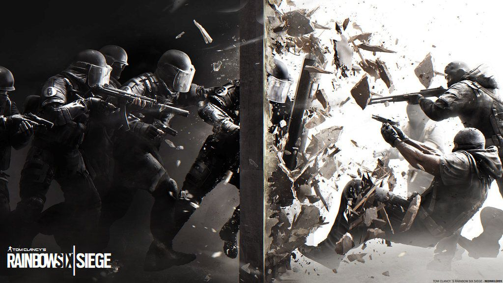 Tom Clancy 39 S Rainbow Six Siege Xbox One 2015 Game Wallpaper