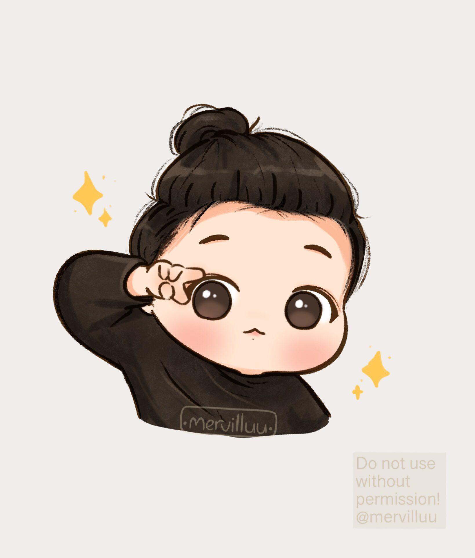 Merve On Twitter Chibi Bts Chibi Character Design Animation Bts jungkook chibi wallpaper
