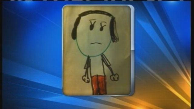 When a 5-year-old girl caught a glimpse of a bad guy running from police in her Alvin, Texas neighborhood she drew a picture and gave it to local police. - make sure to watch video, adorable!