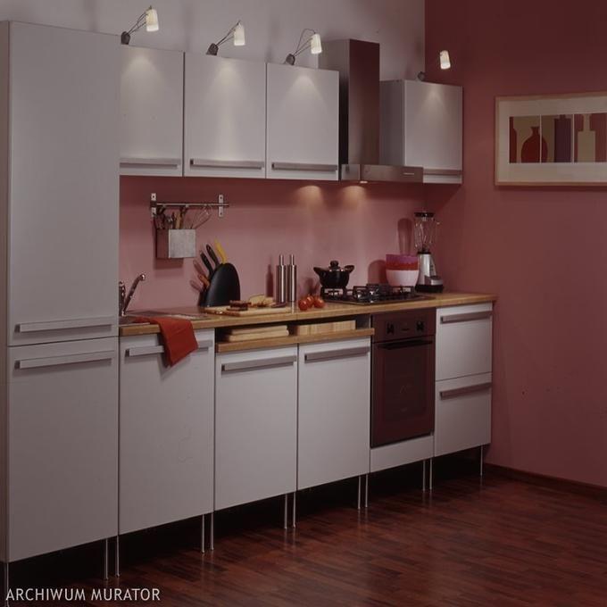 Mała Biało Różowa Kuchnia Home And Garden