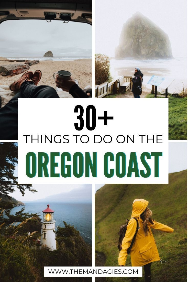 The Perfect Oregon Coast Road Trip Itinerary (And Exactly Where To Find All The Best Spots) - The Mandagies