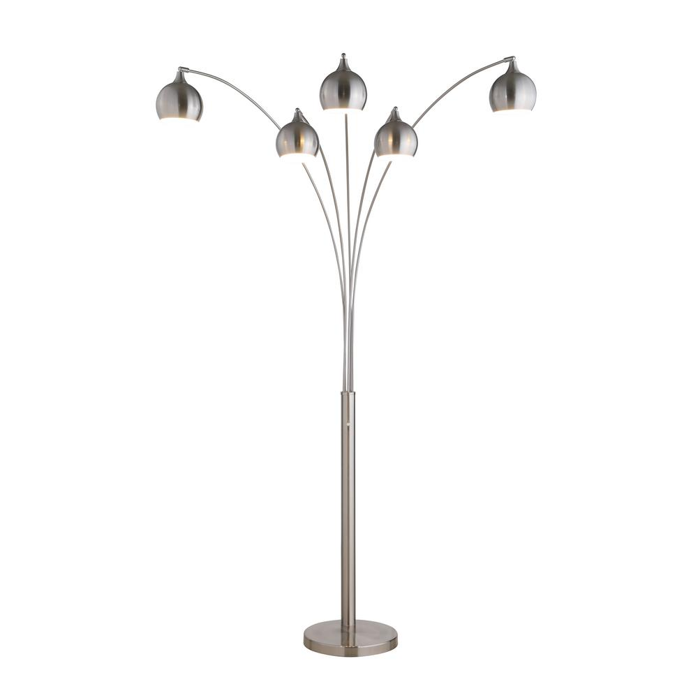 LED Arched Floor Lamp