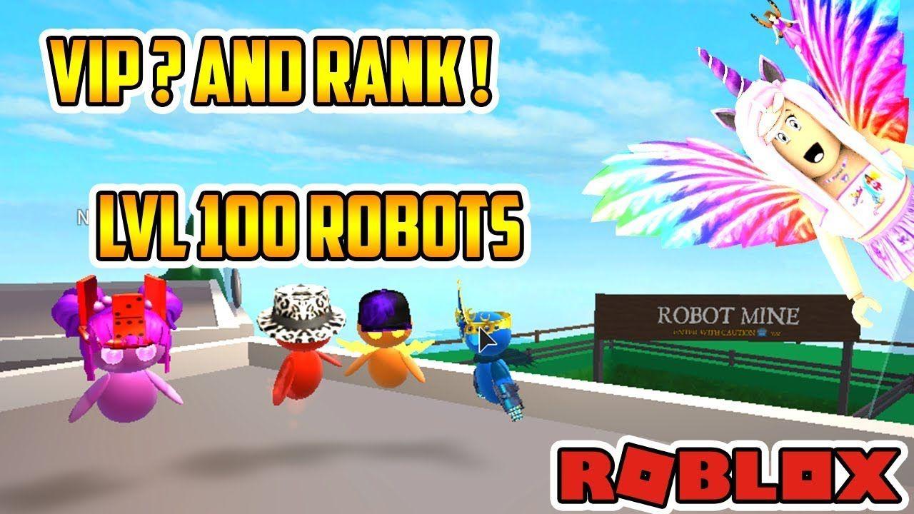 Vip Olduk Rank Nasil Alinir Roblox Robot Simulator Yeni Rolblox Robot Oyun