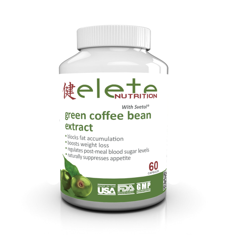 Elete Green Coffee Bean with Svetol has been clinically tested and proven to reduce weight