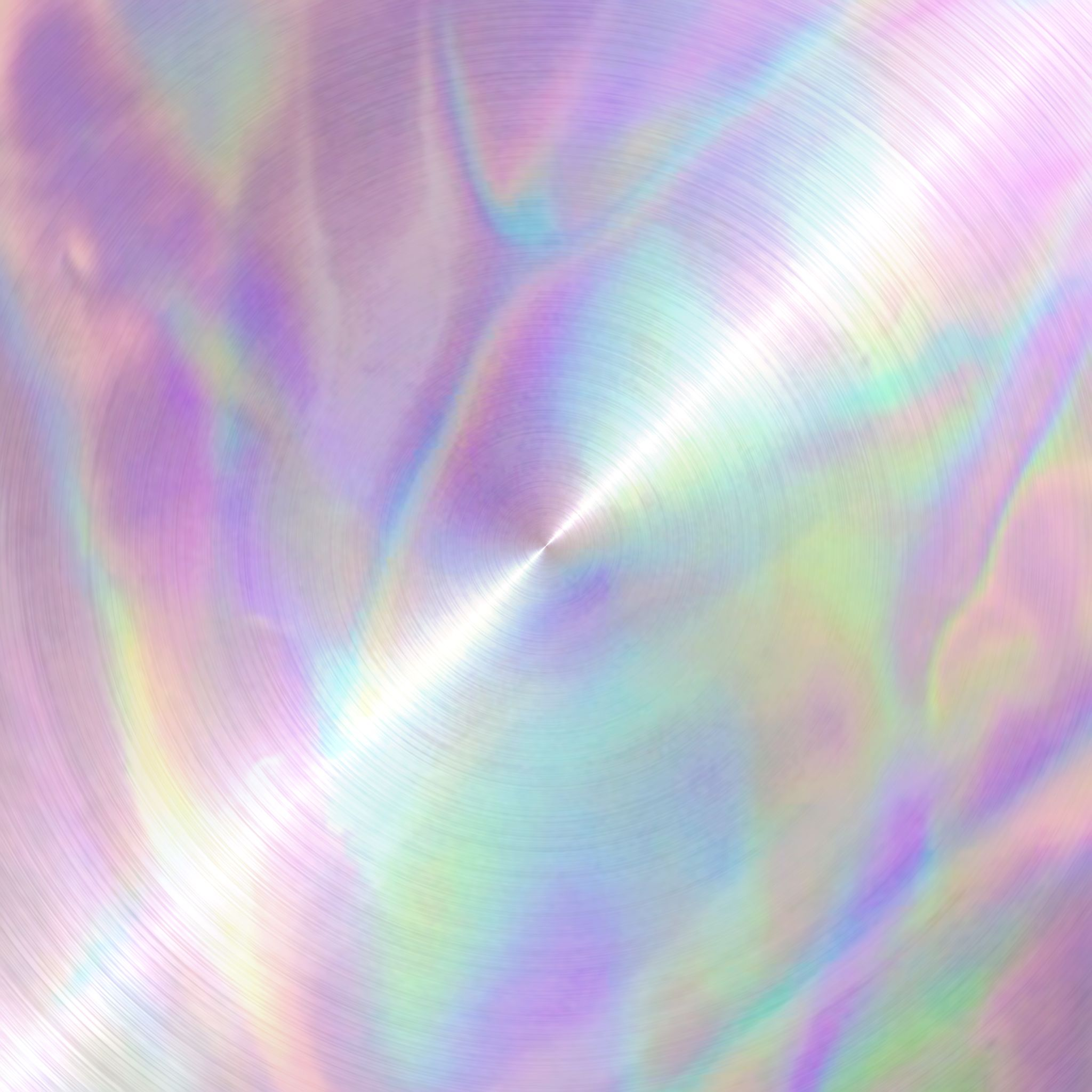 Iridescent Holographic Radial Metal Texture 2 Metal Texture Textured Background Colorful Wallpaper