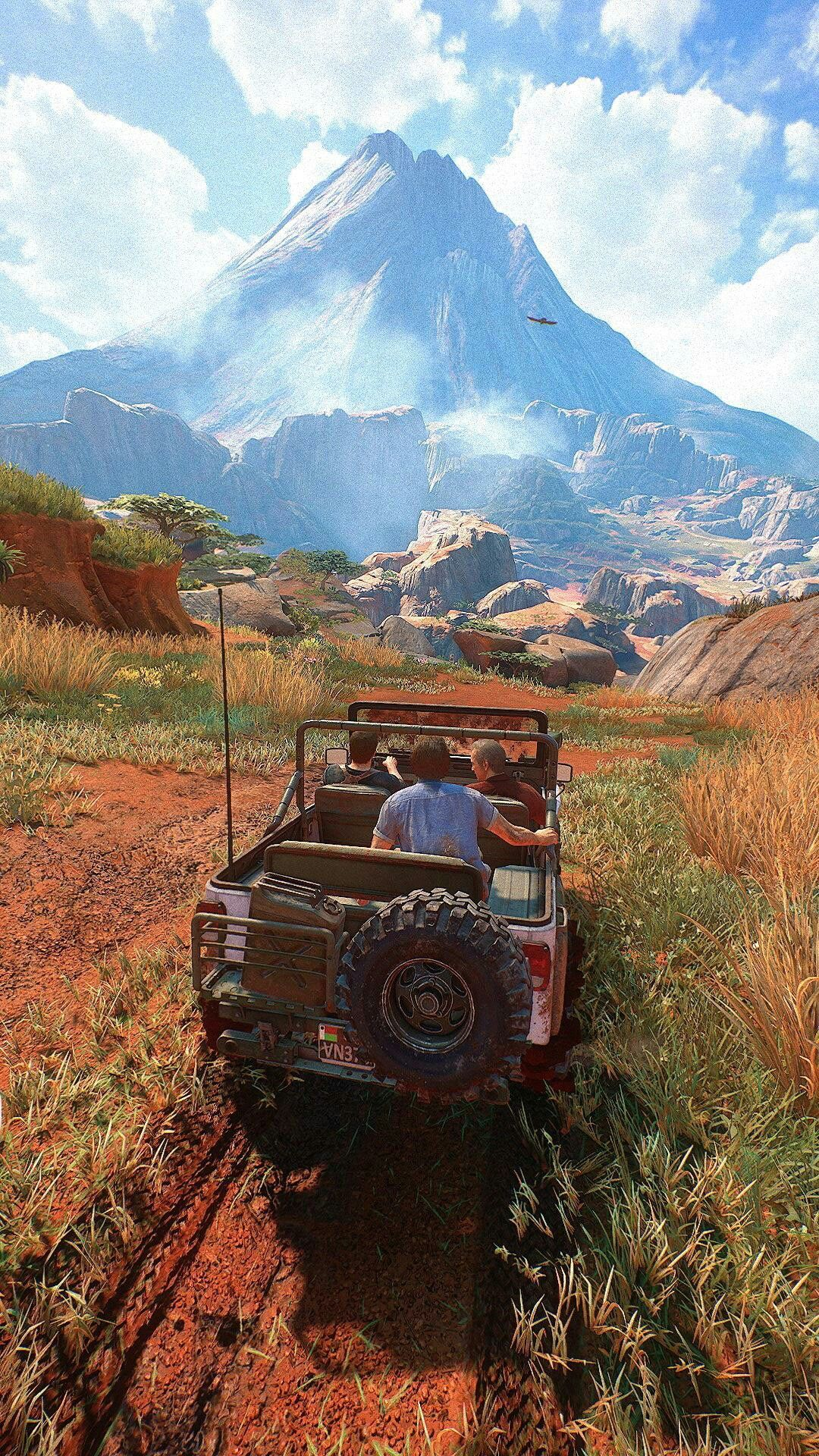 Download Cool Uncharted 4 Phone Wallpaper On High Quality Wallpaper On Hdwallpaper9 Com Iphone Android Wall In 2020 Uncharted Artwork Uncharted Uncharted Aesthetic