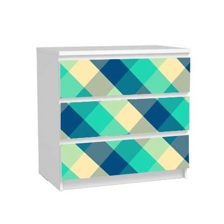 Sticker Meuble Commode Malm Ikea Relooking Carreaux Diy Hack Malm Stickers Pour Meuble Commode Malm