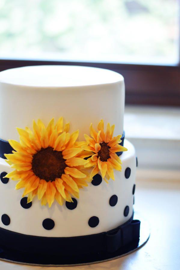 Sunflower Cake Cake By Freshcake Cake Cupcake And