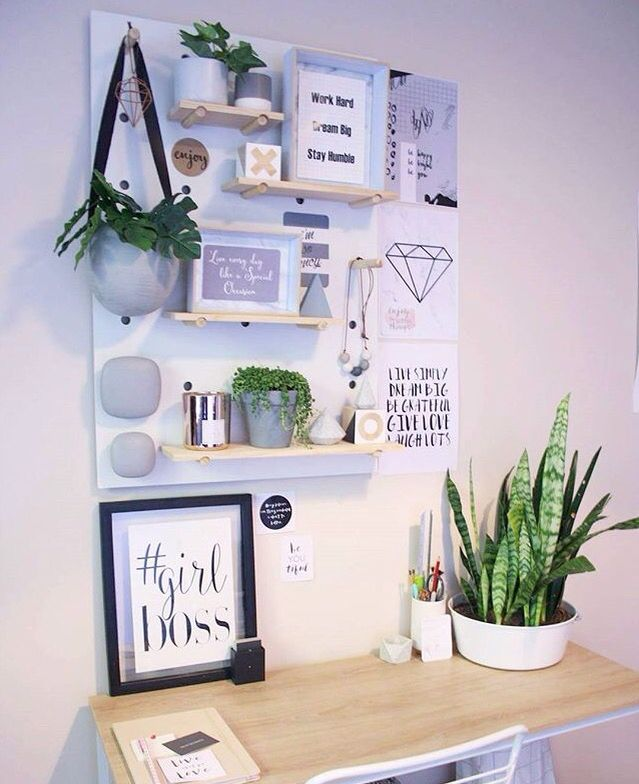 50 Splendid Scandinavian Home Office And Workspace Designs: Pin By Emily McFarlan Miller On Fixer Upper To Dream Home