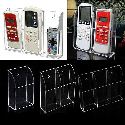 1 2 3 Case Wall Mount Storage Box Tv Remote Control Air Conditioner Holder New View More On The Lin Diy Air Conditioner Remote Control Holder Remote Holder