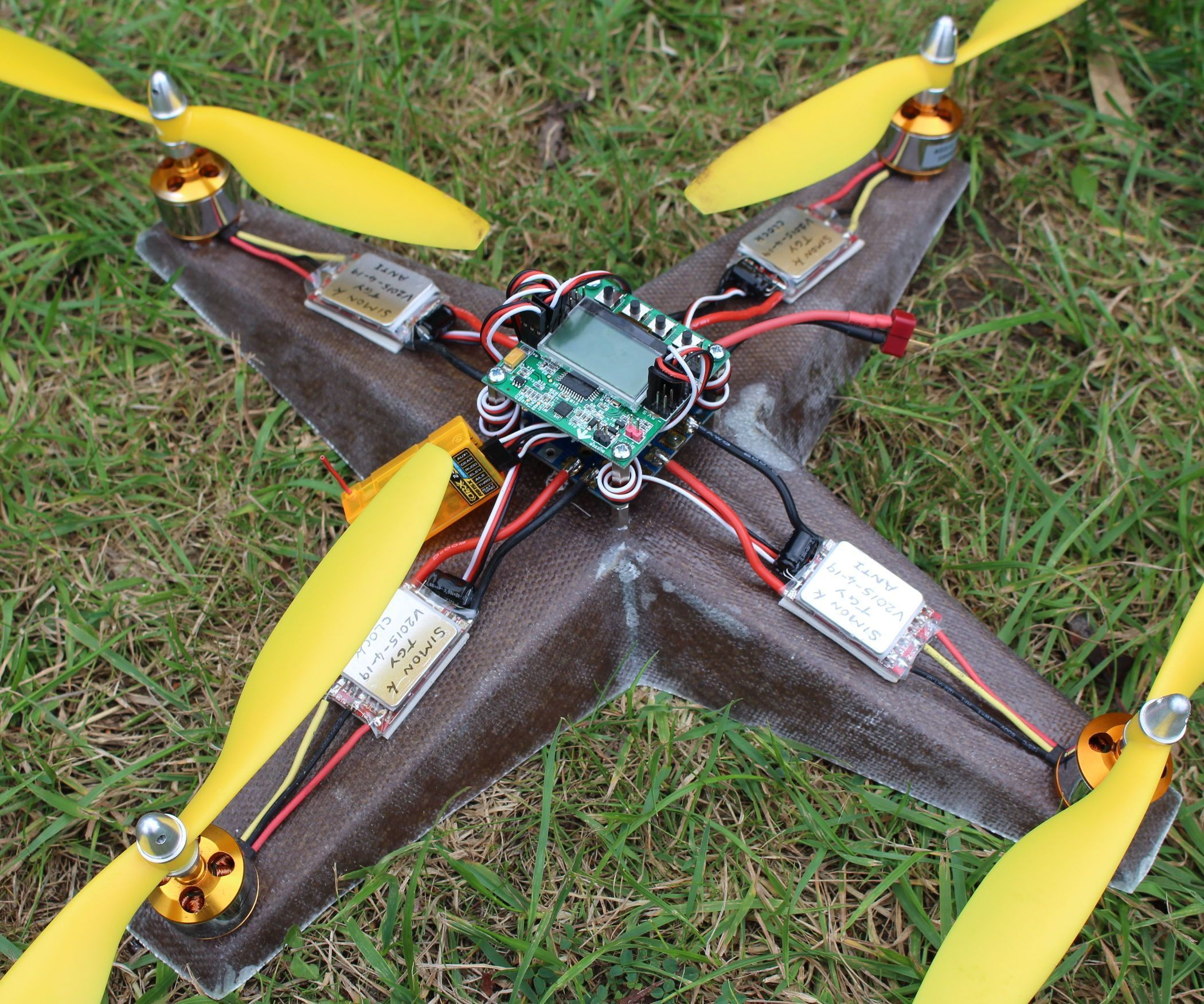 how to make a drone with cardboard