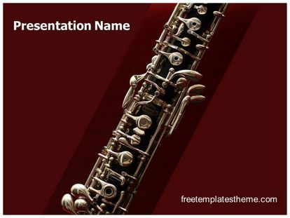 Download Free Music Oboe Powerpoint Template For Your