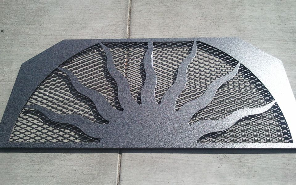 Buy Custom Iron Window Well Grates Covers Iron Railings Online At Colorado Window Well Window Well Cover Basement Window Well Covers