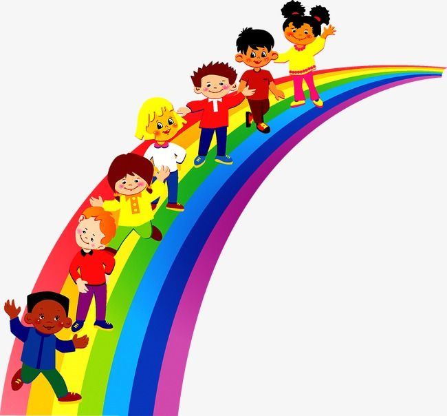 Rainbow Children Rainbow Clipart Child Rainbow Png Transparent Clipart Image And Psd File For Free Download Rainbow Kids Rainbow Png Rainbow Clipart