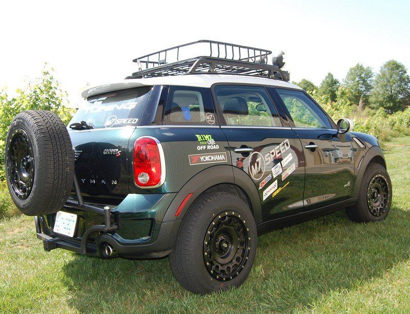 Lifted MINI Cooper Countryman Project Ironman