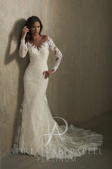 345a22821e Adrianna Papell Platinum Bridal 31046 Adrianna Papell Platinum Gesinees  Bridal-Prom Dresses