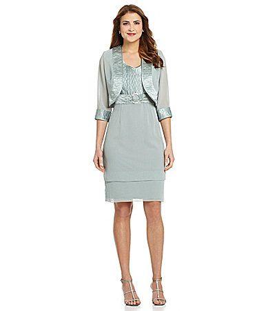 Le Bos Woman 2Piece Jacket Dress #Dillards