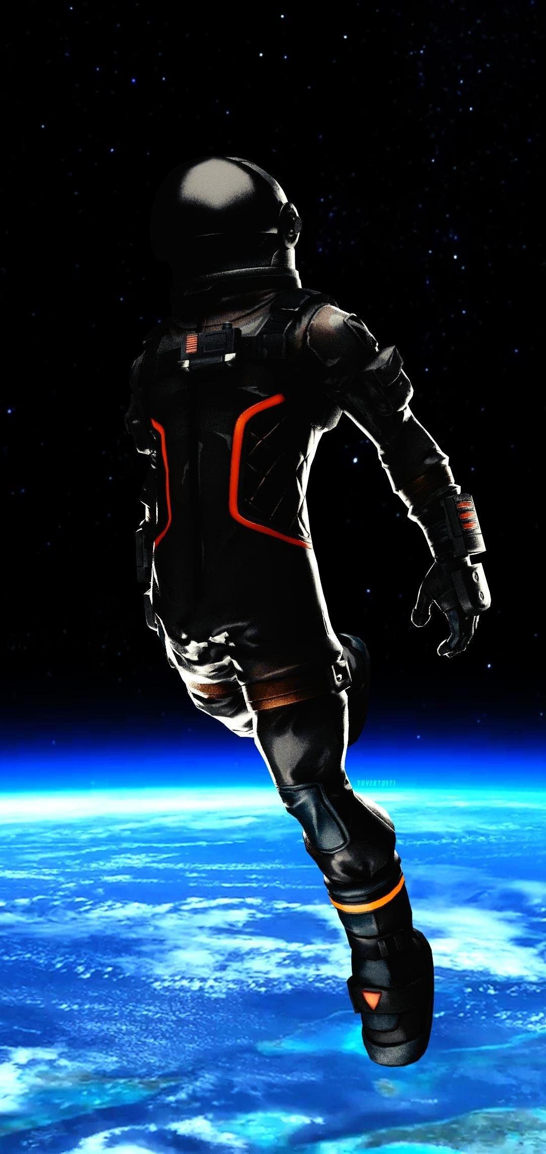 Fortnite Dark Voyager Astronaut Wallpaper Fortnite Black Astronauts