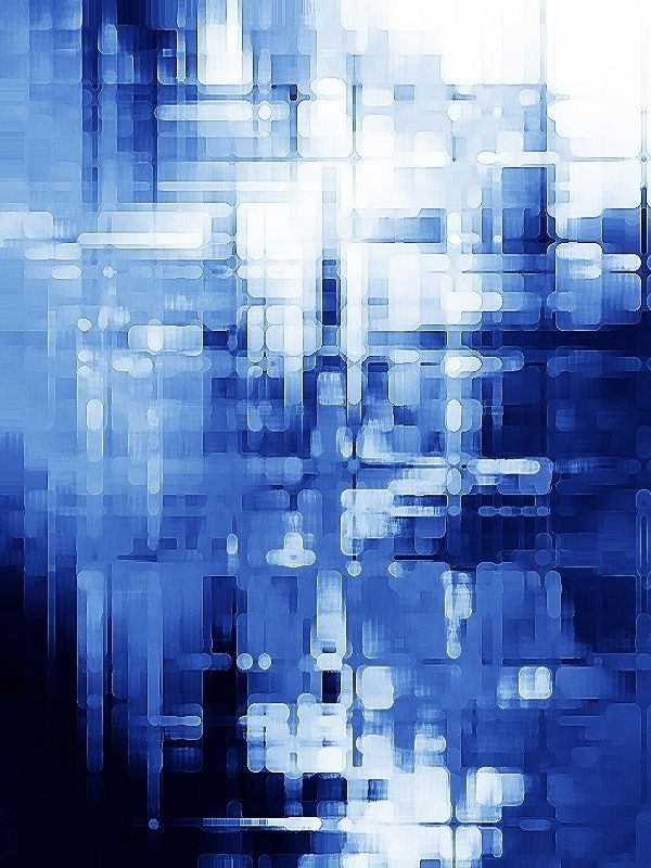 Blue background abstract art by sanae errabie also aesthetic rh pinterest