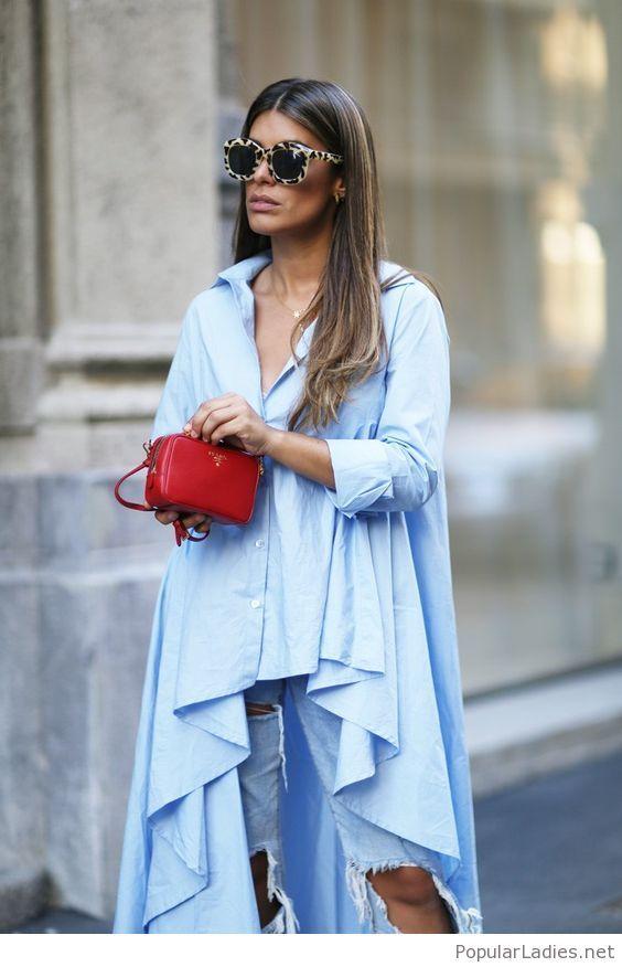 Amazing jeans and light blue shirt design nel 2018 for Design della moda politecnico milano opinioni
