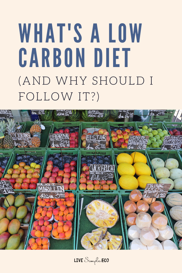 what is a low-carbon diet?