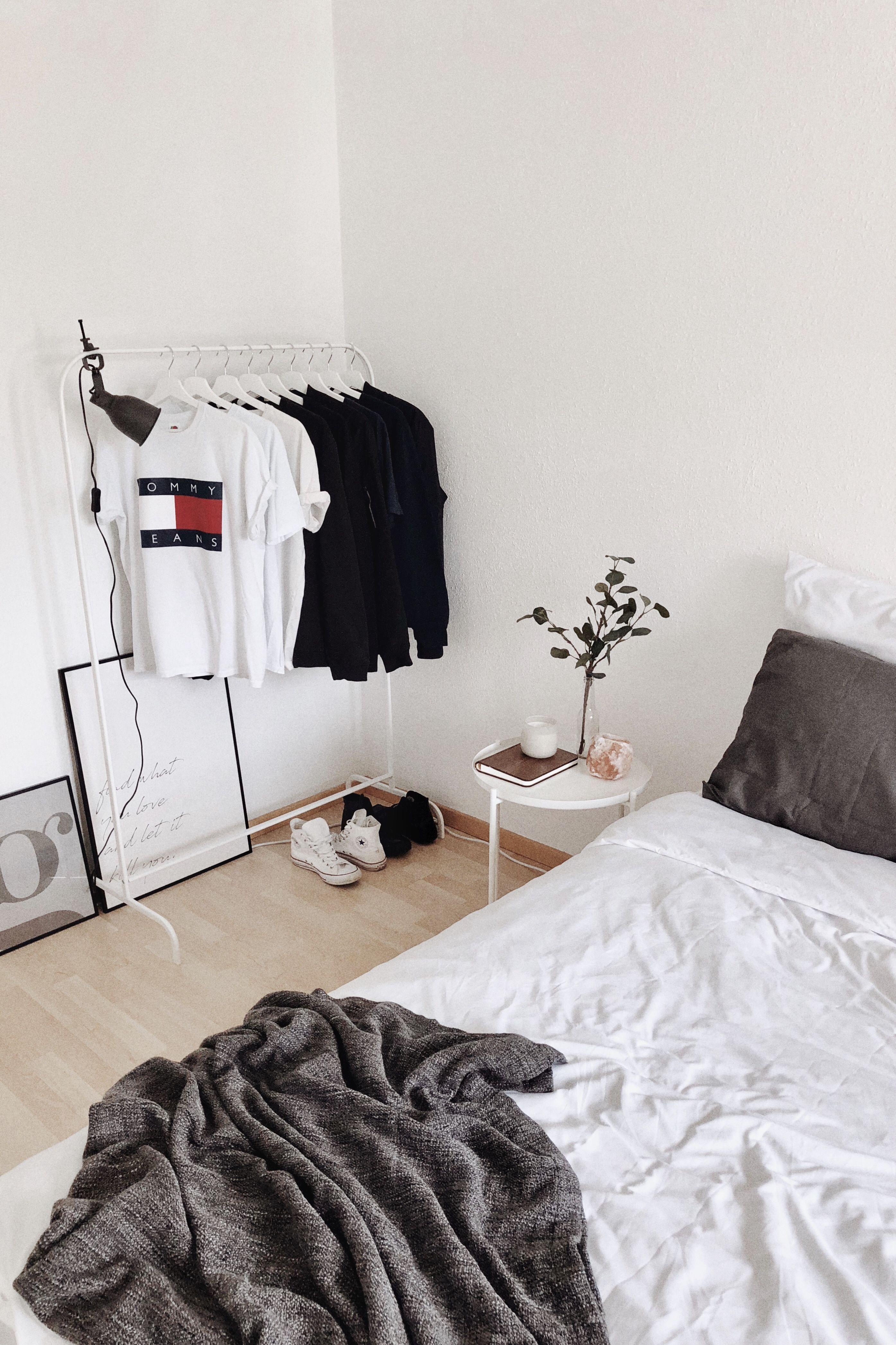 Minimalist Scandinavian Small Bedroom Ikea Dekorasi Kamar Arsitektur Dekorasi
