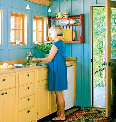 find this pin and more on colorful interiors kolorowe wntrza - Colorful Kitchens