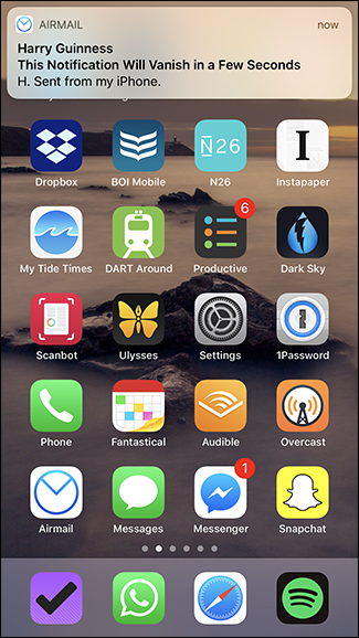 How to Make Banner Notifications Stick on Your iPhone's
